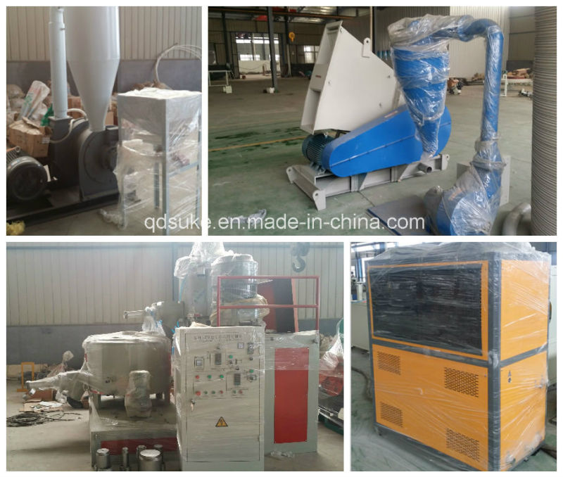 WPC Crust Foam Board Extruder Machine Line with Ce and ISO
