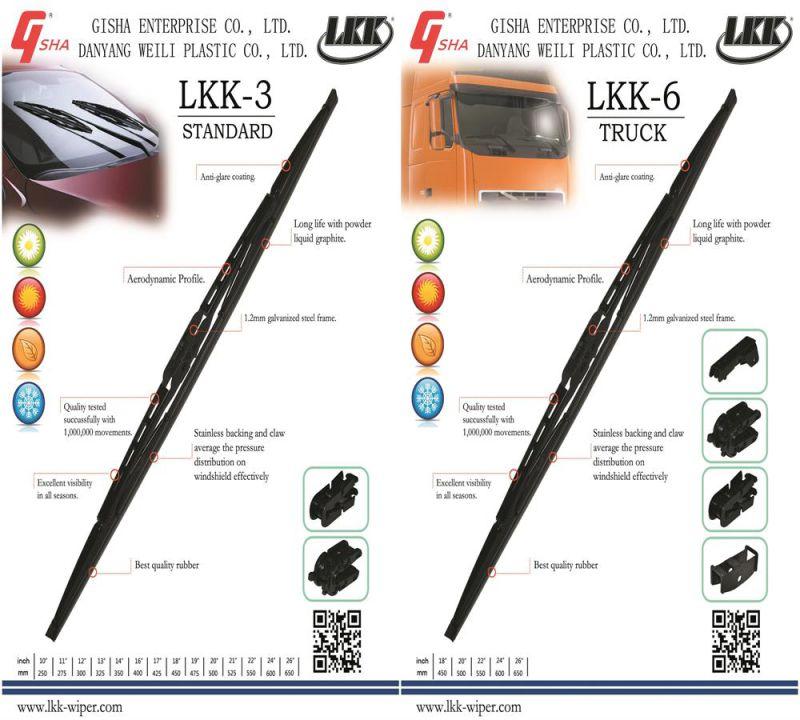 Panda'93>'03 Wiper Arm Wiper Blade (PL17-11)