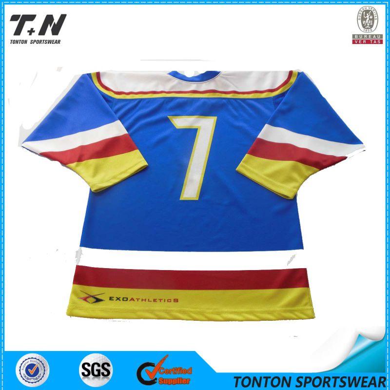 2015 New Season Professional Customized OEM Ice Hockey Jersey (IC01)