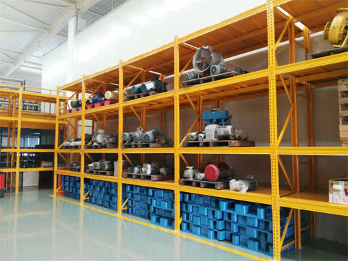 Warehouse Wide Span Storage Rack