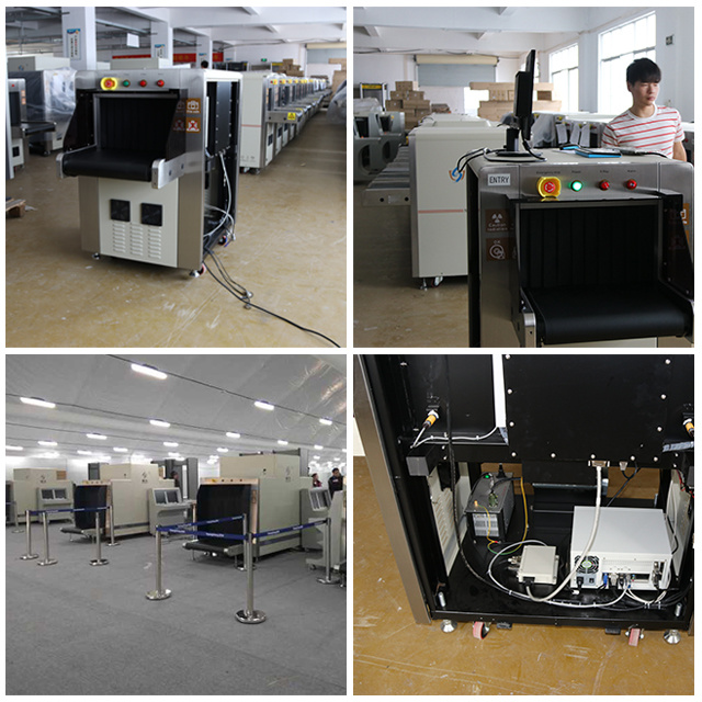 ISO9001 China Big Manufacturer X-ray Baggage Scanner, Airport Security Inspection Systems Machine