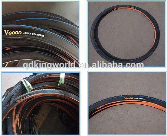 Sporting Goods 26X1.4 Reflective Strip Black Tire