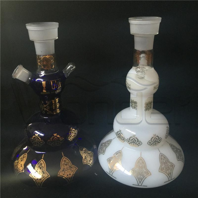Elegant Glass Shisha Hookahs for Sample
