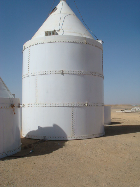 500t Bolted Cement Silo for Concrete Mix Plant