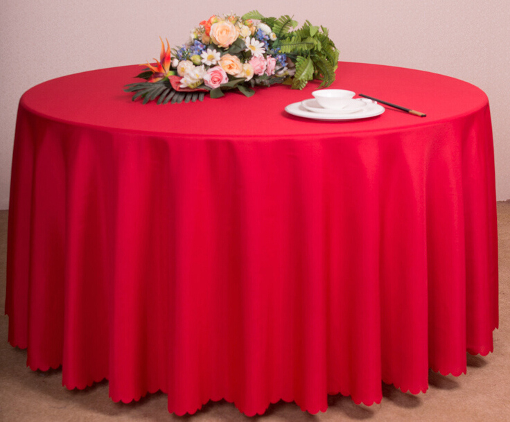 The Colored Wedding Hotel Adornment Table Cloth
