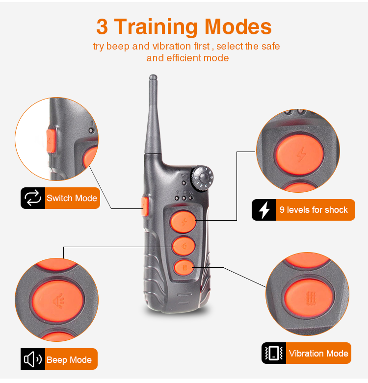 Aetertek Electric Shock Dog Collar Training
