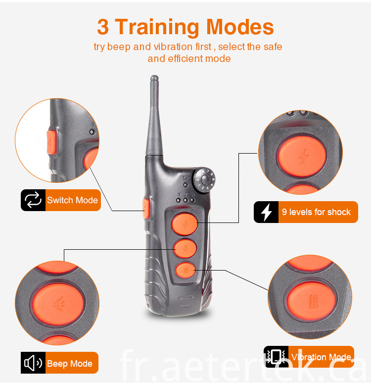 Dog Training Remote Shock Beep Vibrate