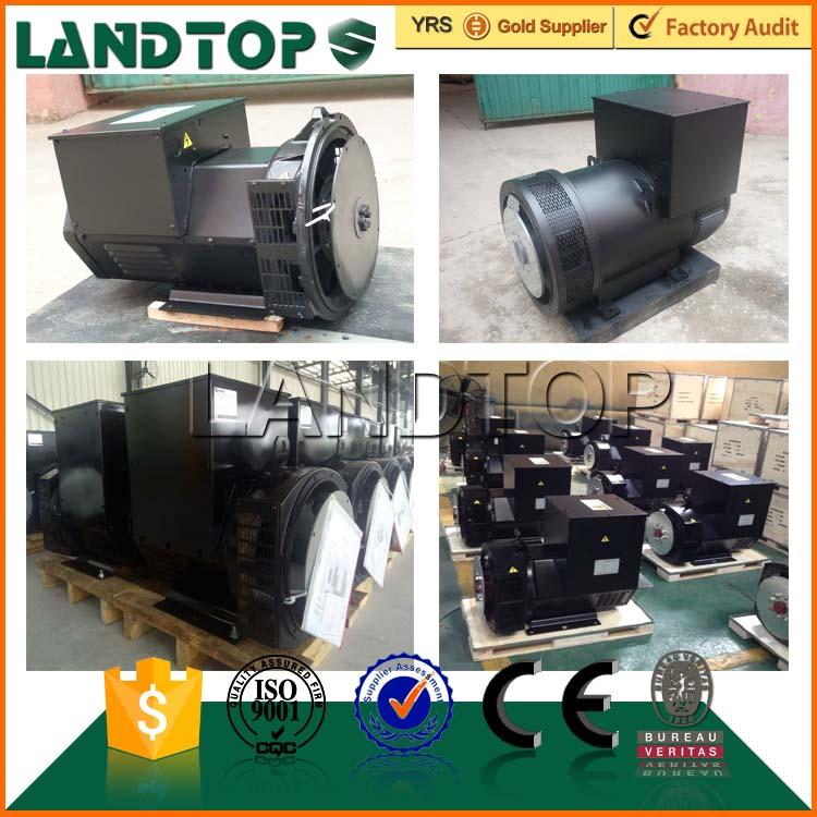 TOP brushless 440V AC 3 phase 80kVA alternator 220V 5kw