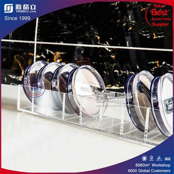 Transparent Acrylic Compact Holder in Low Price