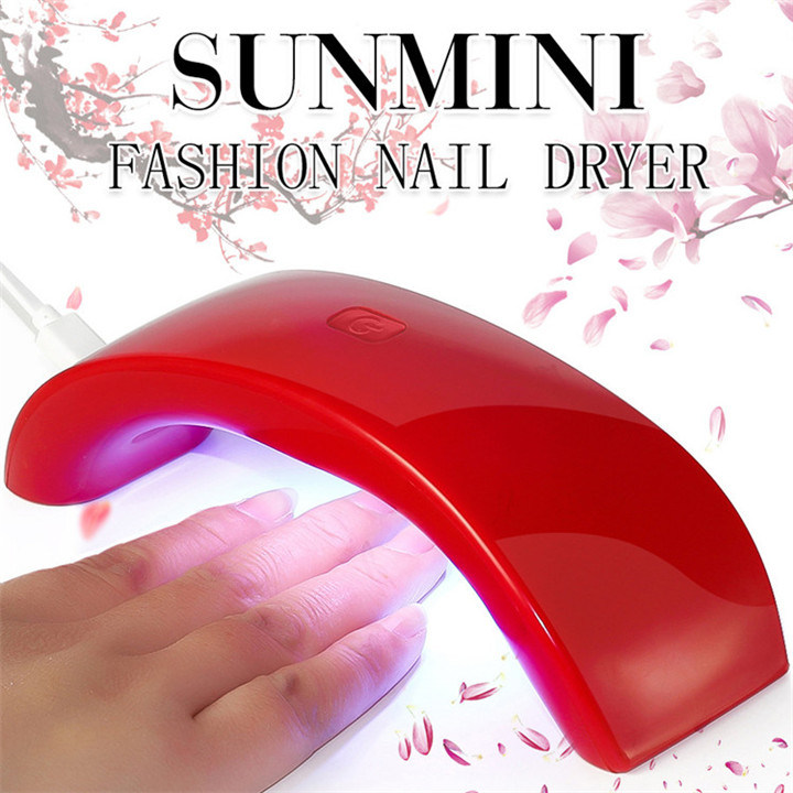 Mini Sun UV LED Nail Curing Nail Lamp with Double Light Source