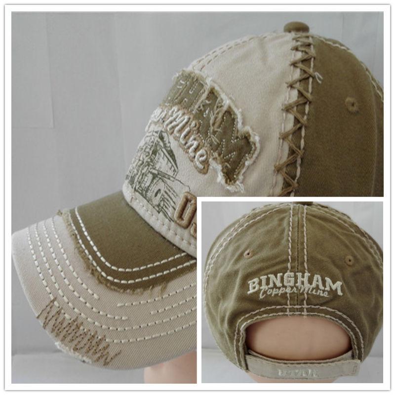 Heavy Washed Capwindow Baseball Cap