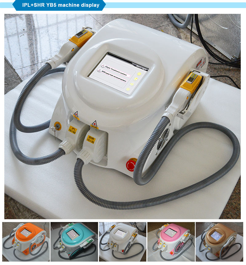 Permanent Hair Removal Beauty Equipment Shr+IPL