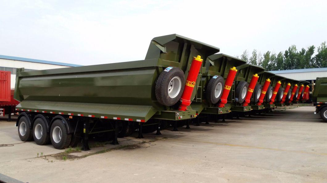 Heavy Duty Dump Truck Semi Trailer for HOWO Sinotruk