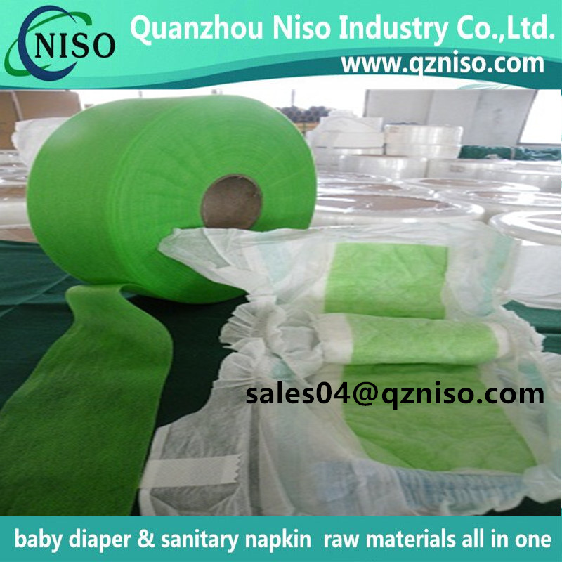 Raw Materials for Sanitary Napkins and Diapers--Hydrophilic Adl Acquisition Layer SMS SMMS