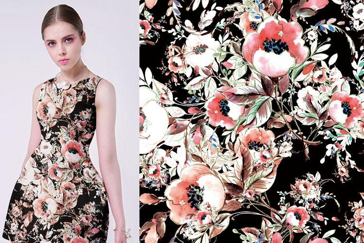 Custom Elastic Satin Fabric
