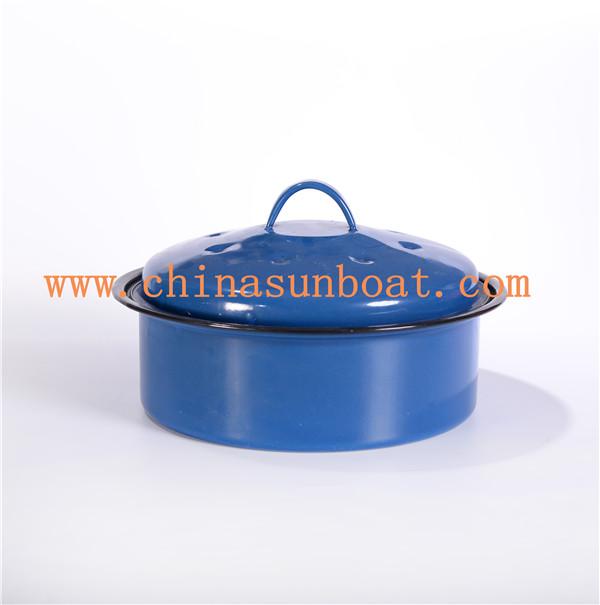 Enamel Kitchen Appliance Stock Pot / Kitchenware /Enamel Steamer