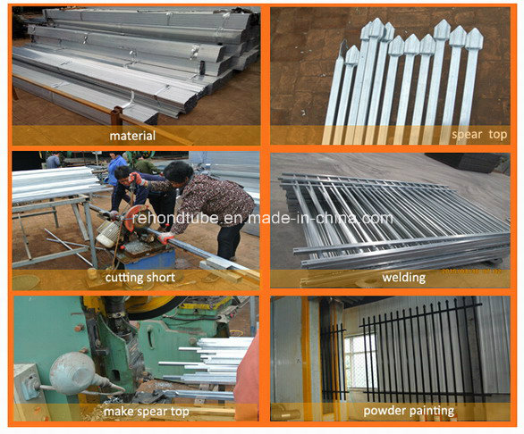 Top Grade Hot Dipped Galvanized Garrision Fence Panel