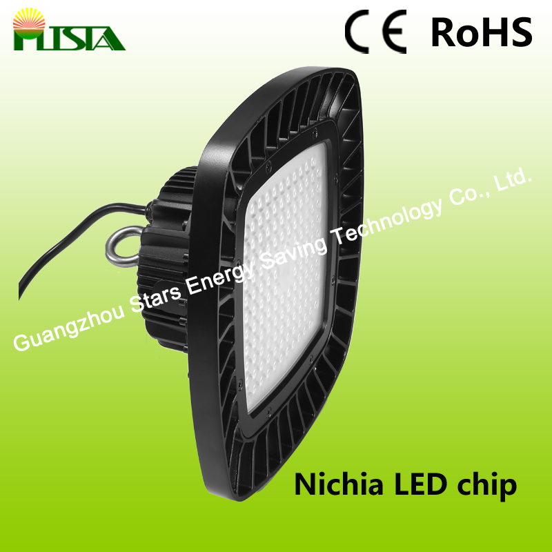 100W 150W Nichia Chip High Power Light LED High Bay Light with Square Shape