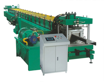 Z-Roller Forming Machine for Making Steel Shelf