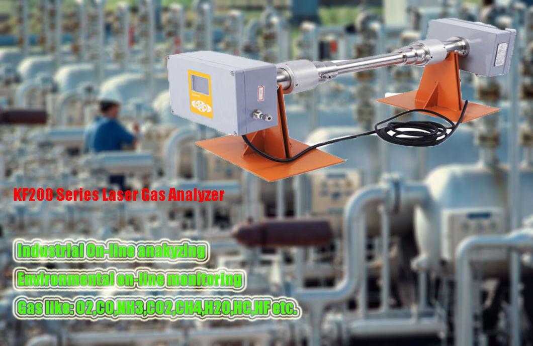 Dlas Principle Co, O2, CH4, Nh3 Gas Laser Analyzer