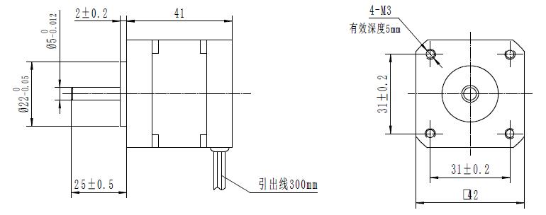 42mm 12V 24V 4000rpm Widely Used Electric Brushless DC Motor