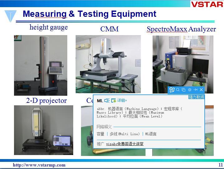 Machining Stainless Steel Machine CNC for Customized Machine Auto Part Hardware Vst-0956