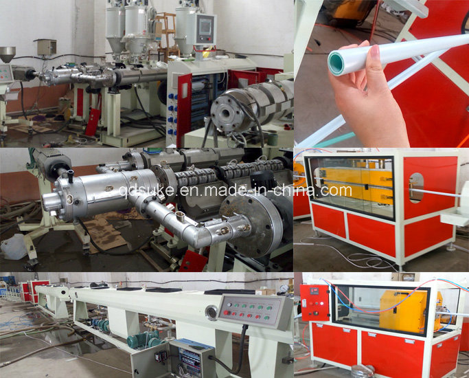 PPR Glass Fiber Pipe Production Extrusion Line (SJ9033)
