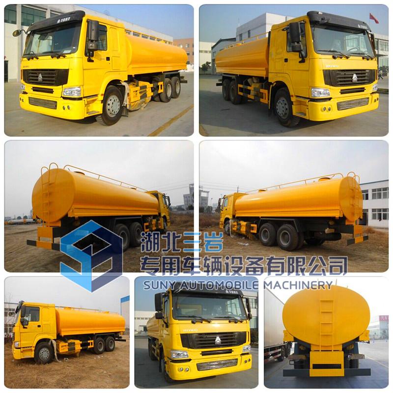 Sino HOWO 6X4 20000 Liters Water Tank Truck