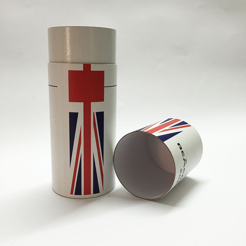 Recycle Round Paper Tubes for Food Packing, Food Packaging Cardboard Tubes