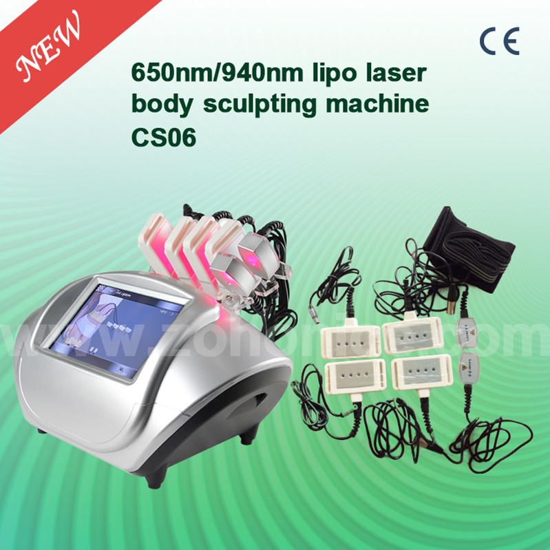 CS06 Portable 650nm Laser Slimming Beauty Equipment