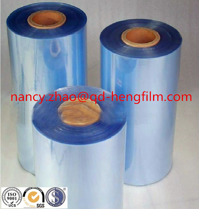 Transparent Rigid PVC Film for Food Thermoforming Packing