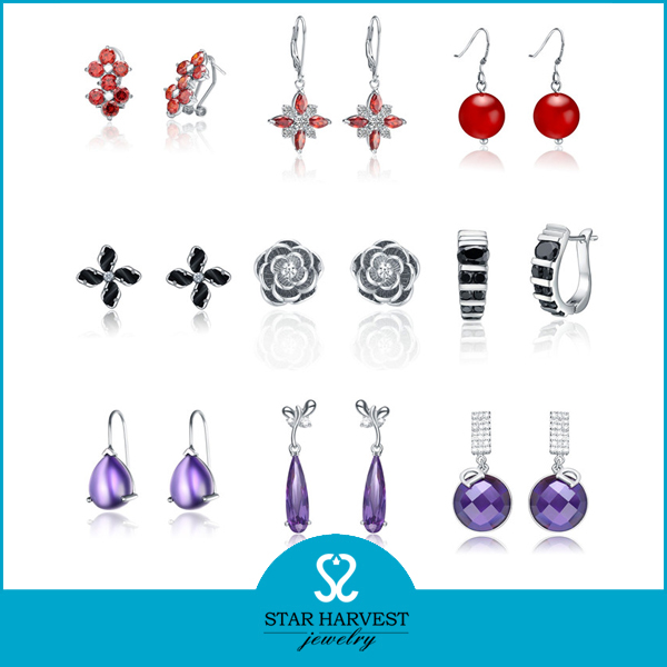 Fashion High Quality Charm Earrings for Girls Made in China (SH-E0158)