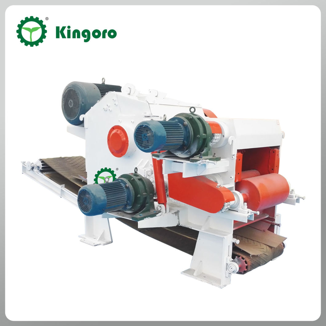 Manufacturing High Effect Wood Cutter with Tree Chipper
