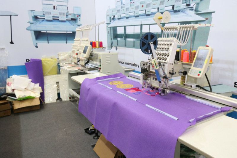 Wonyo Large Long Big Embroidery Area Single Head Embroidery Machine Wy1201cl