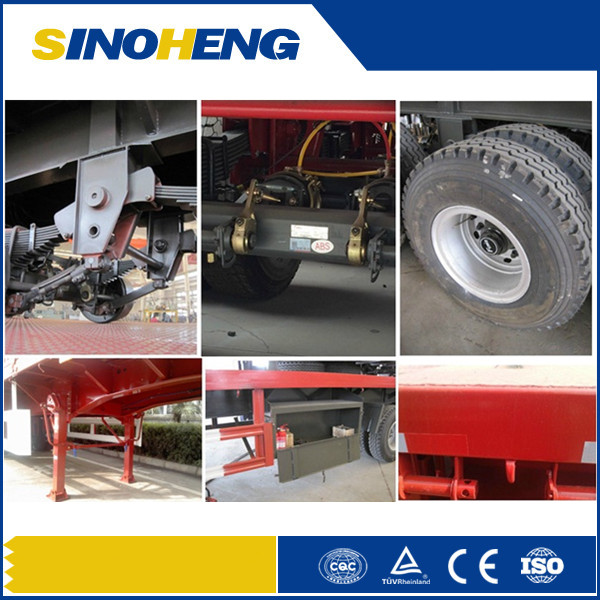 China Top Quality Flatbed Container Semi Trailers