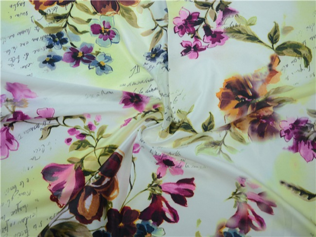 Digital Textile Printing Fabric 100% Polyester Fabric (TLD-0063)