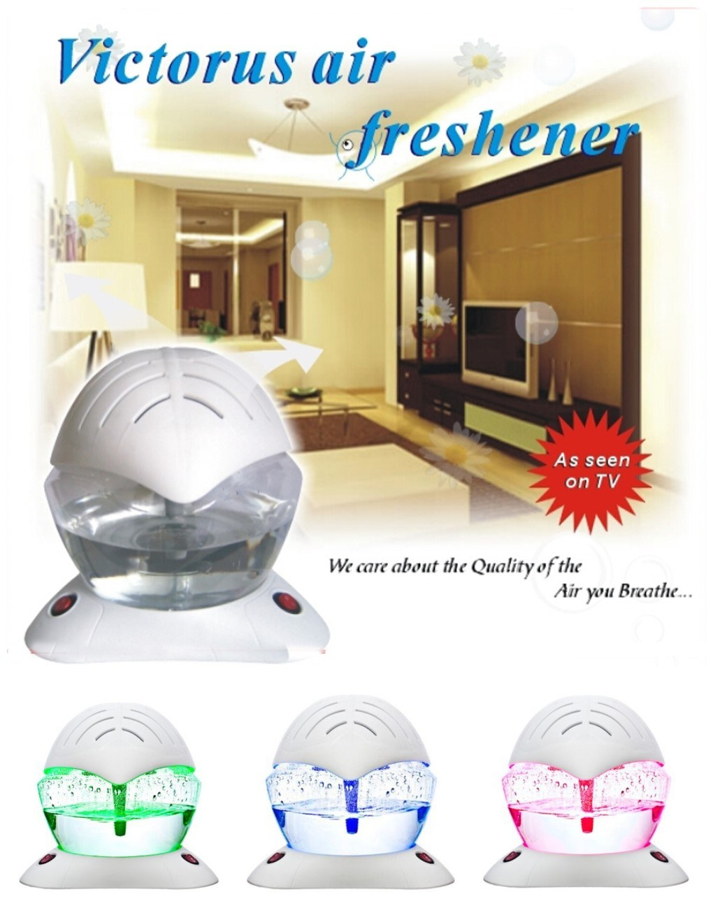 Home Using Anion Electric Air Freshener with Fine Quality