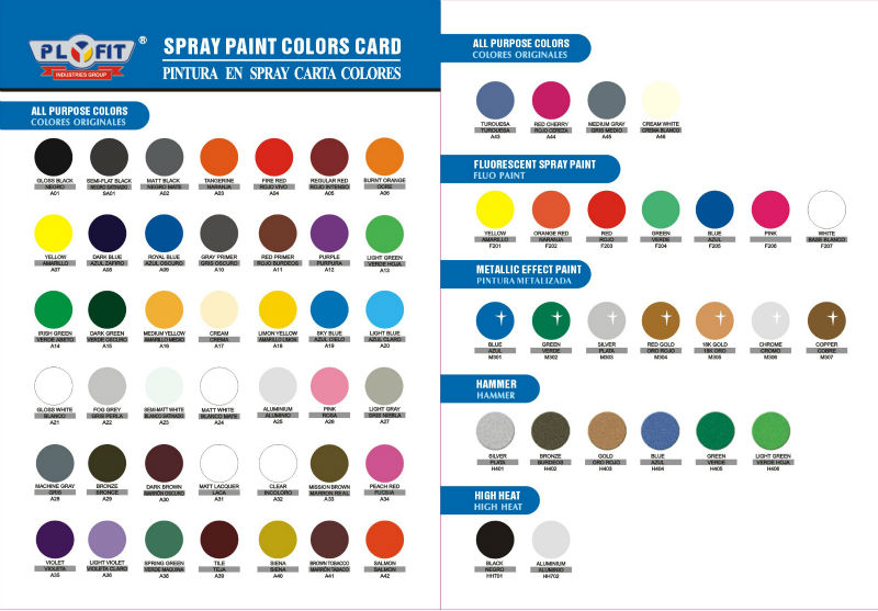 Popular Metallic 18k Gold Aerosol Spray Paint