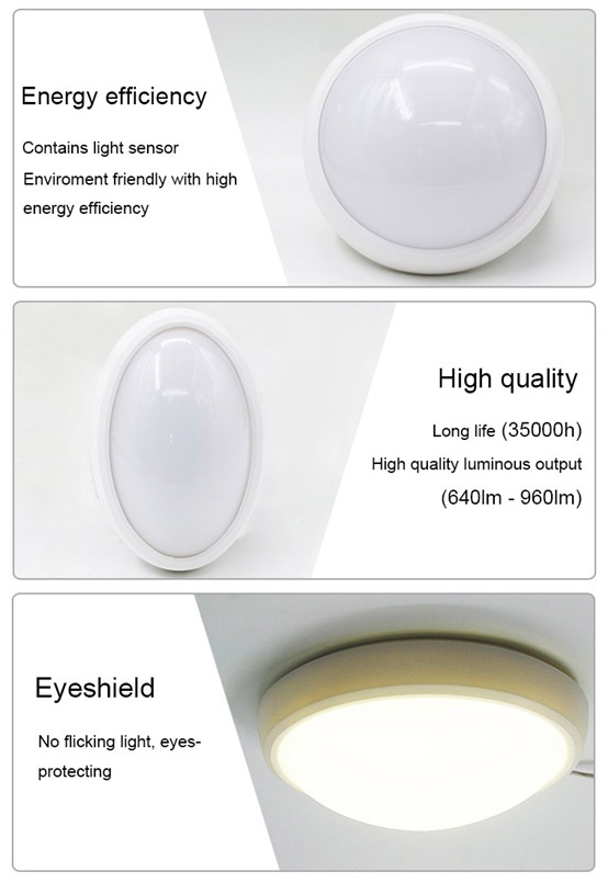 Acyclic Cover LED Ceiling Light 20W Indoor Ceiling Lamp Warranty 3 Years