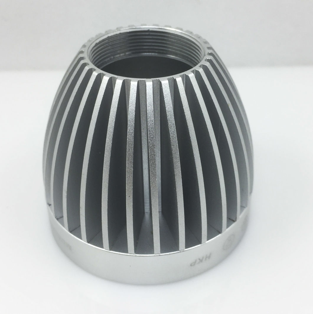 Aluminum Extrusion Anodized Black Silver, Aluminum Hardware Turning, Aluminum Turning CNC Aluminum Parts, LED Lights Radiator / Cooler