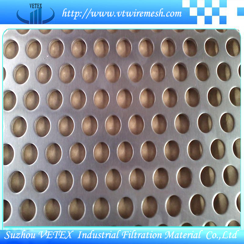 Soaked or Spray Perforated Wire Mesh