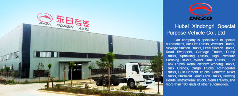 Euro4 Dongfeng 3.5cbm Mobile Advertising Truck with Good Quality