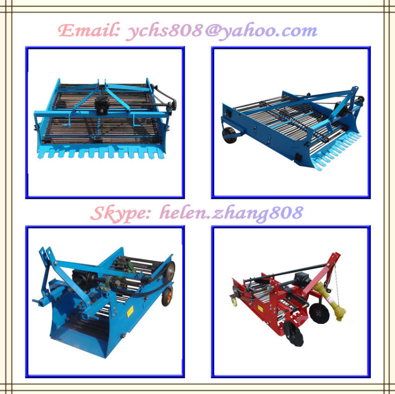 Agricultural Machine 2 Rows Potato Harvester Mounted Jm Tractor