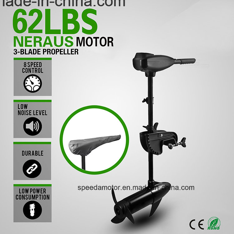 Neraus 62lbs Electric Boat Trolling Motor Outboard