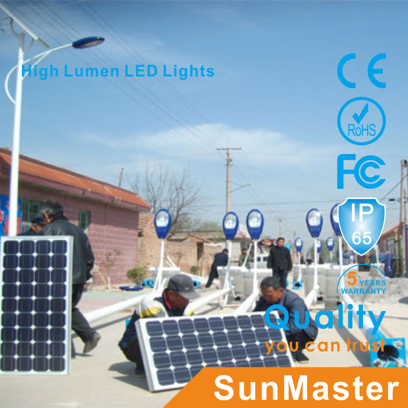 70W CE RoHS Soncap Sabs High Quality Solar LED Street Light