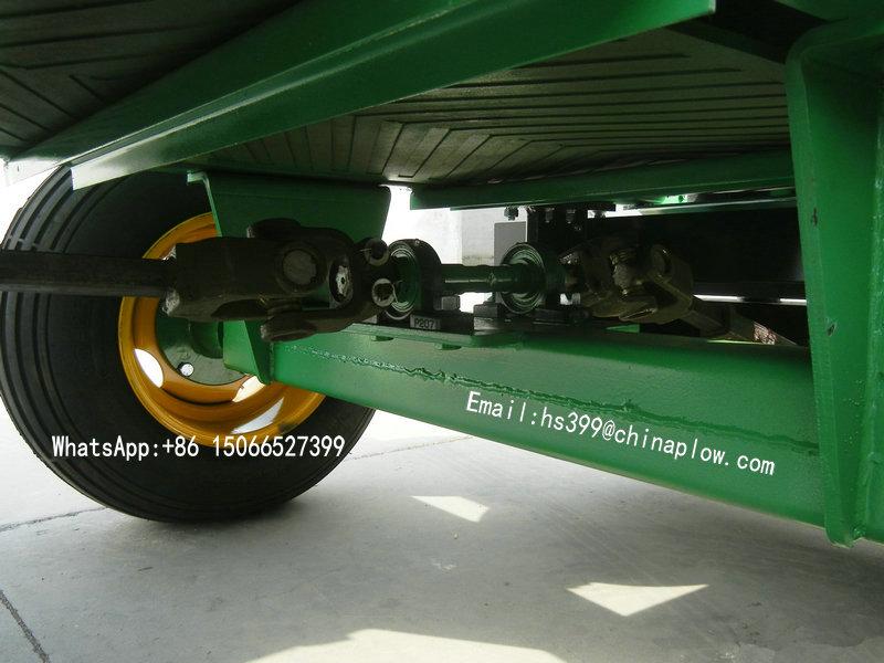 High Efficiency Trailed Fertilizer Spreader with Farm Yto Tractor