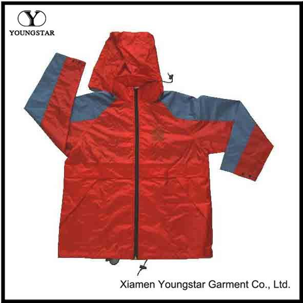Waterproof Mens Golf Lightweight Jacket with Hood