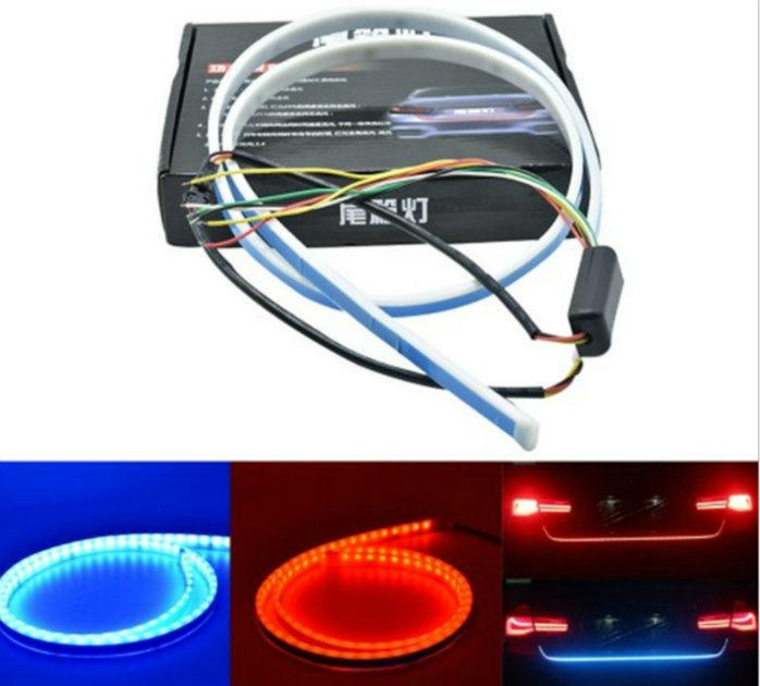 RGB Colorful Flowing/ LED Car Trunk Strip/ Dynamic Blinkers/ LED Turn Light /Tail Lights/ LED DRL Light