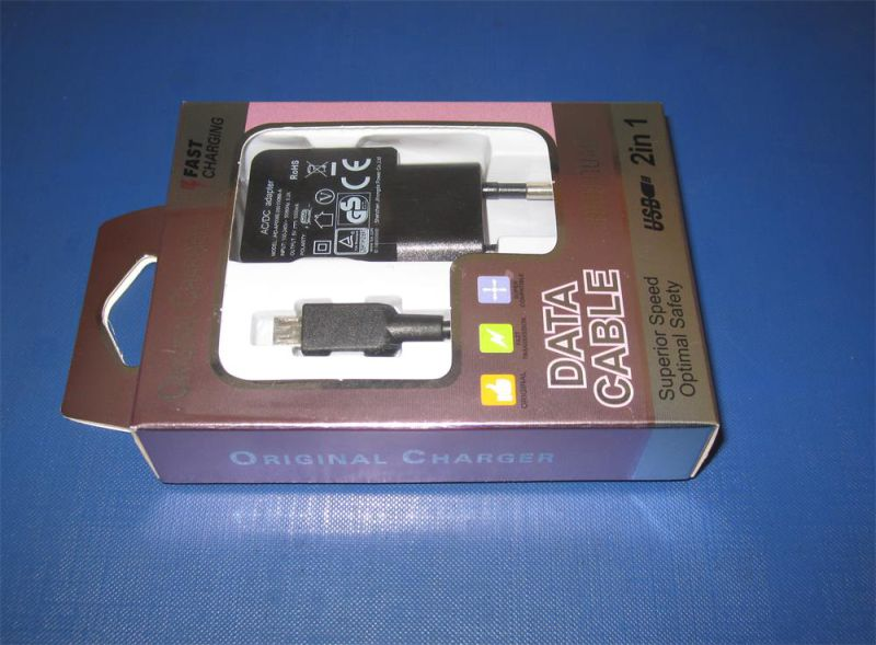 Us Plug 5V1a USB Charger with Each PC in a 4c Window Box