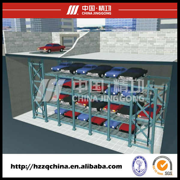 Professional Vertical Parking System and Garage Sold